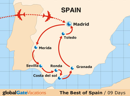 Tour Through Spain, Vacation In The Best Of Spain With Us, Read More.